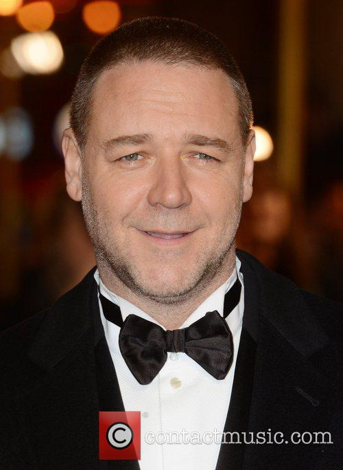 Russell Crowe, Les Miserable, Odeon, Leicester Square, London, England