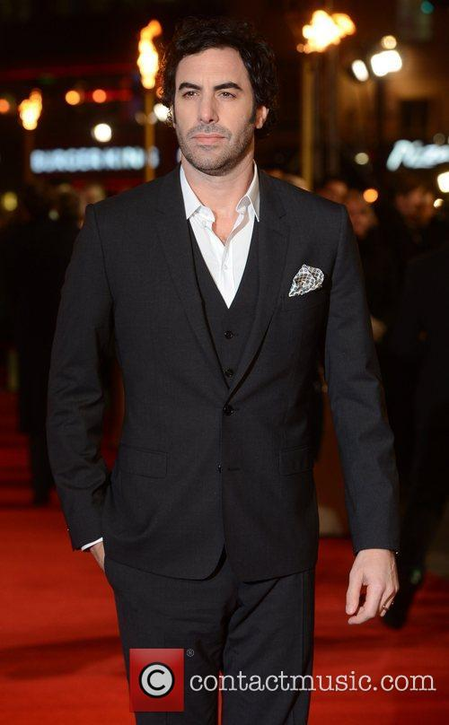 Sacha Baron Cohen, Les Miserable, Odeon, Leicester Square, London and England 3