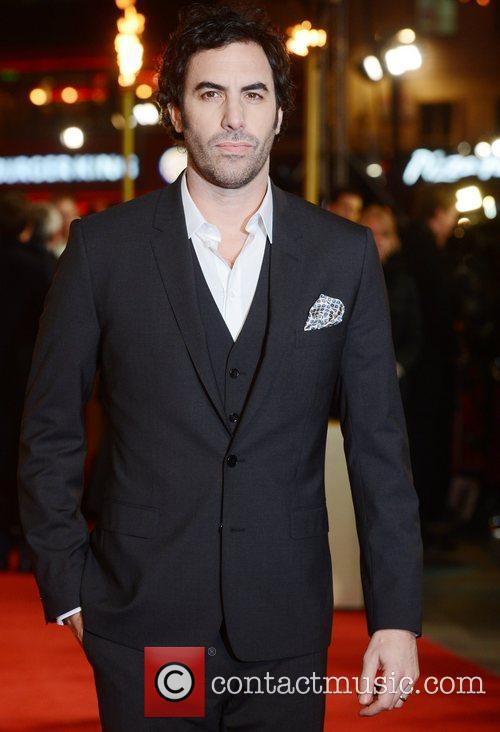 Sacha Baron Cohen, Les Miserable, Odeon, Leicester Square, London and England 10