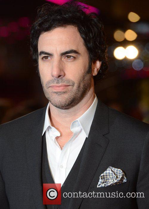 Sacha Baron Cohen, Les Miserable, Odeon, Leicester Square, London and England 1
