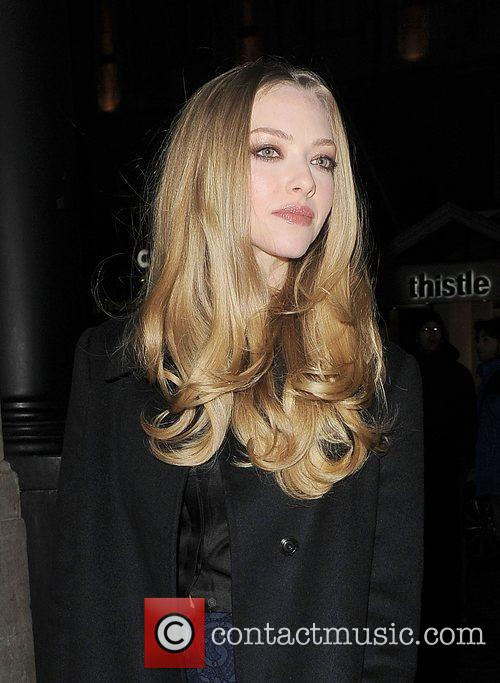 Amanda Seyfried, Empire Cinema, Leicester Square and Les Miserables 1