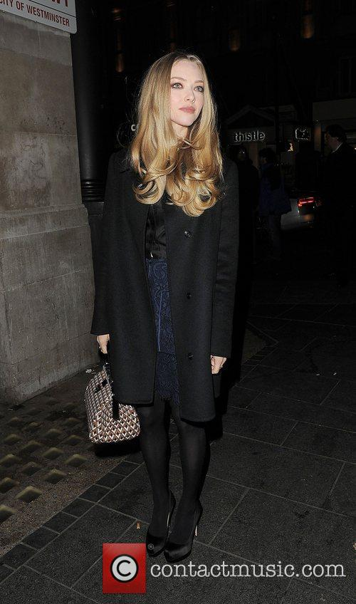 Amanda Seyfried, Empire Cinema, Leicester Square and Les Miserables 14