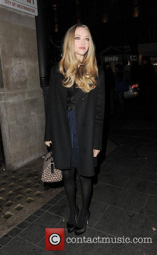 Amanda Seyfried, Empire Cinema, Leicester Square and Les Miserables 11