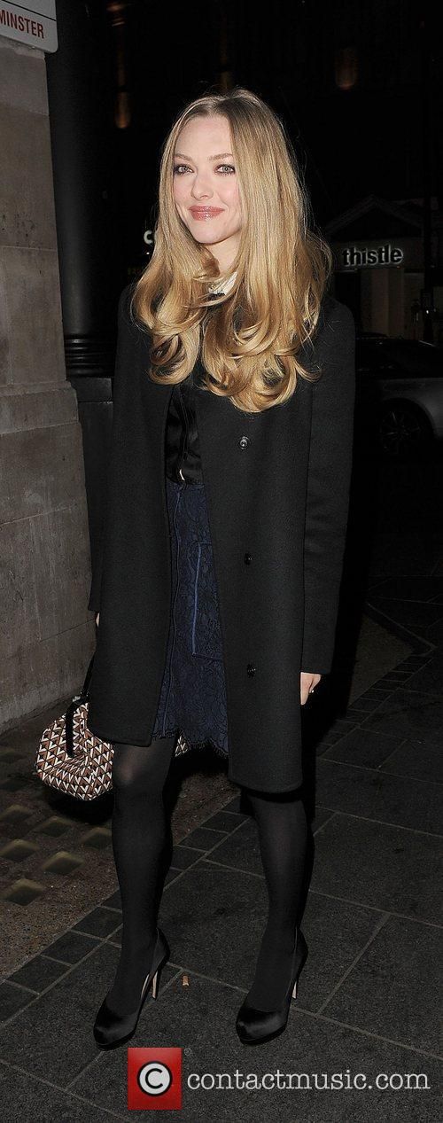 Amanda Seyfried, Empire Cinema, Leicester Square and Les Miserables 16