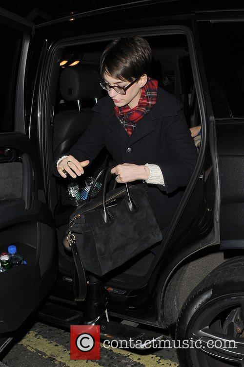 Anne Hathaway, Adam Shulman, Empire Cinema, Leicester Square and Les Miserables 11