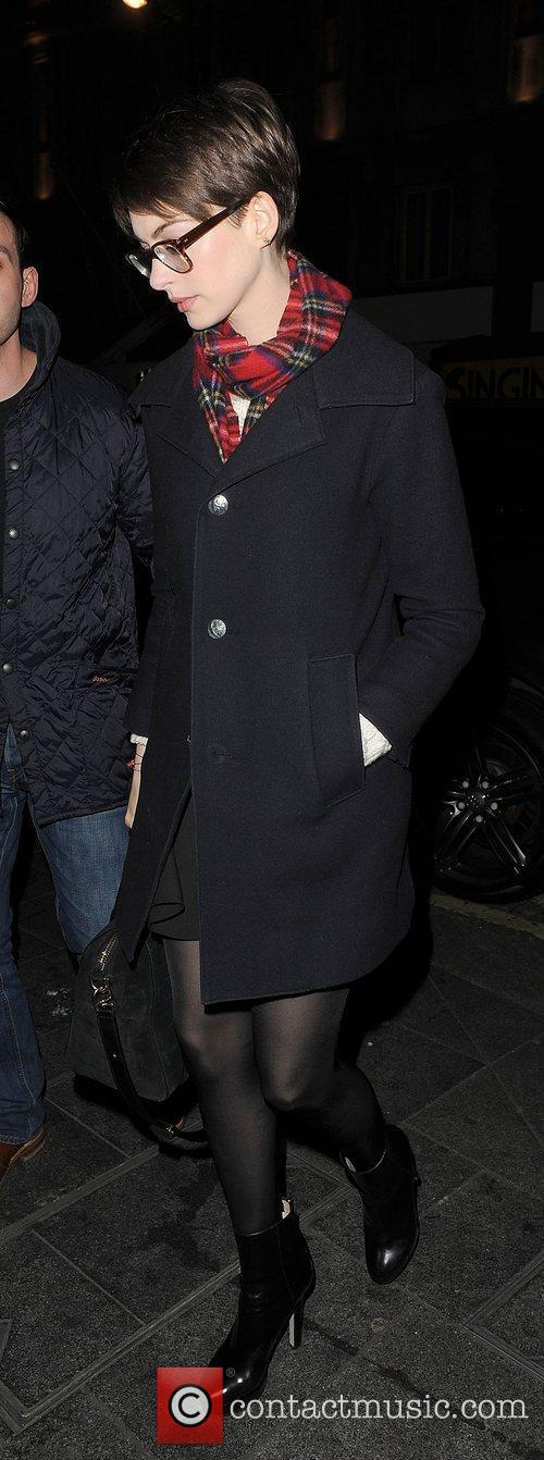 Anne Hathaway, Adam Shulman, Empire Cinema, Leicester Square and Les Miserables 6