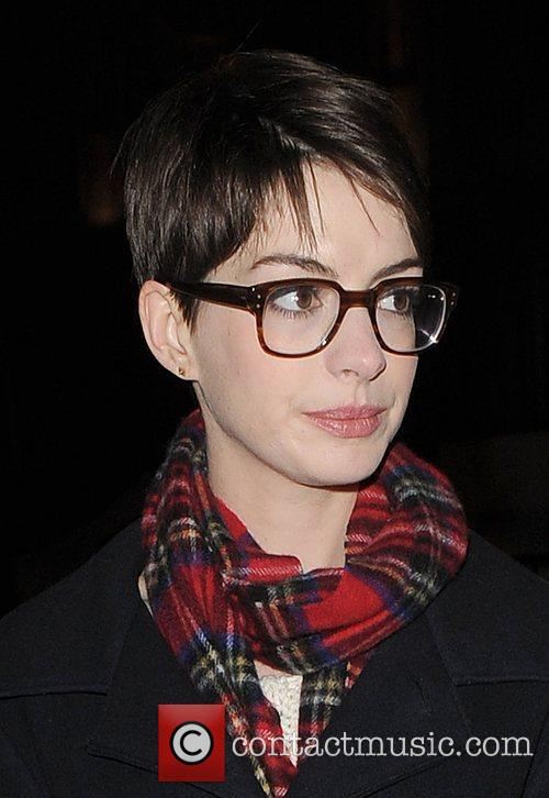 Anne Hathaway, Adam Shulman, Empire Cinema, Leicester Square and Les Miserables 4