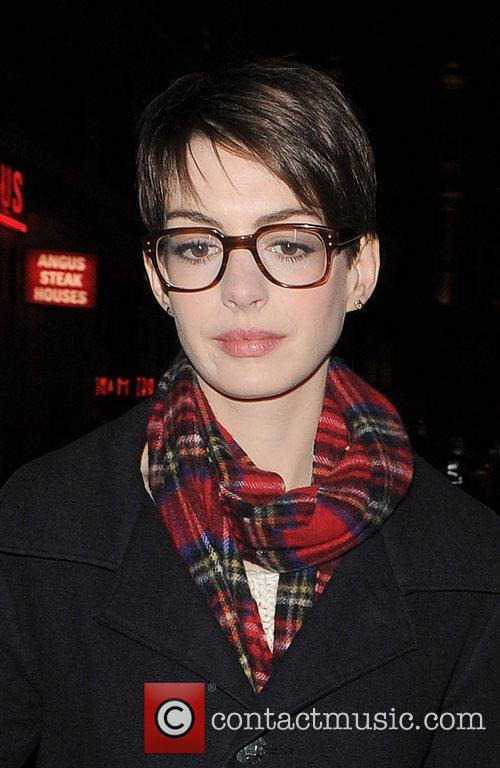 Anne Hathaway, Adam Shulman, Empire Cinema, Leicester Square and Les Miserables 1