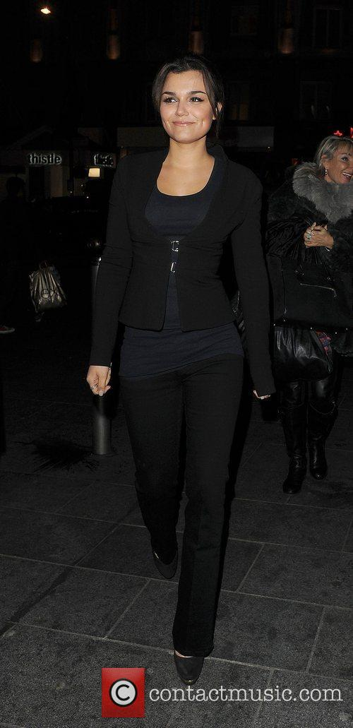 Samantha Barks, Empire Cinema, Leicester Square and Les Miserables 1