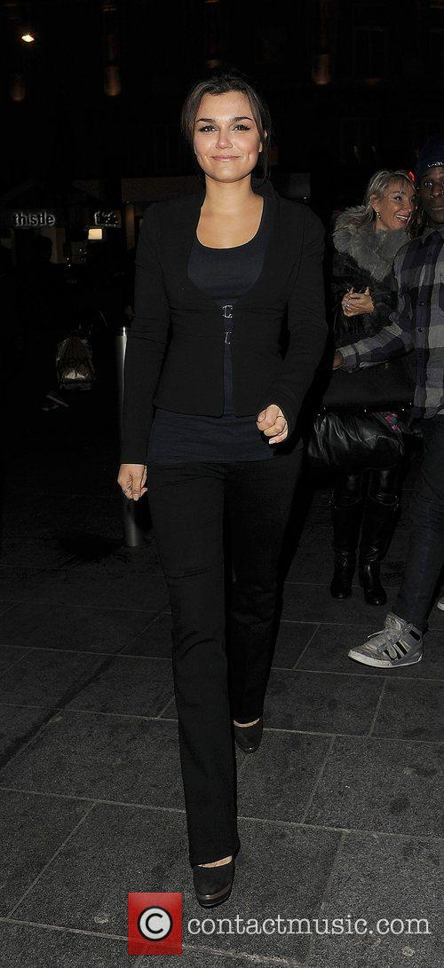 Samantha Barks, Empire Cinema, Leicester Square and Les Miserables 4