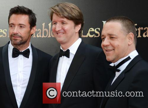 Hugh Jackman, Tom Hopper and Russell Crowe 4