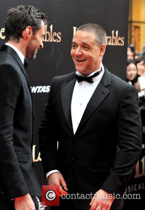 Hugh Jackman; Russell Crowe The Australian premiere of...