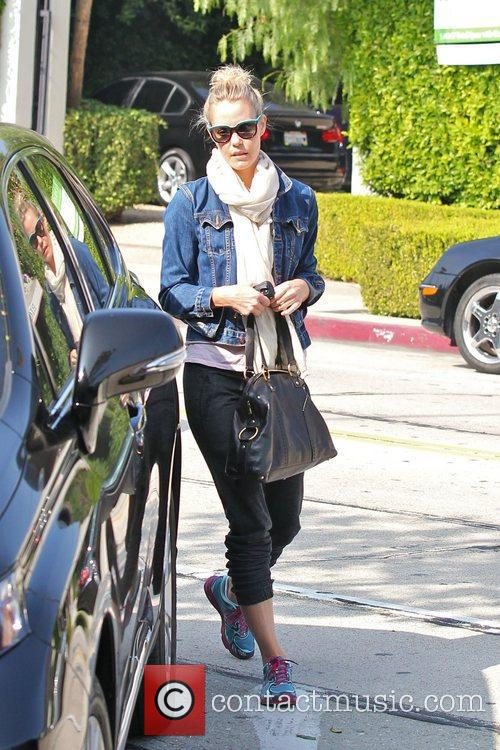 Leslie Bibb out and about in West Hollywood...