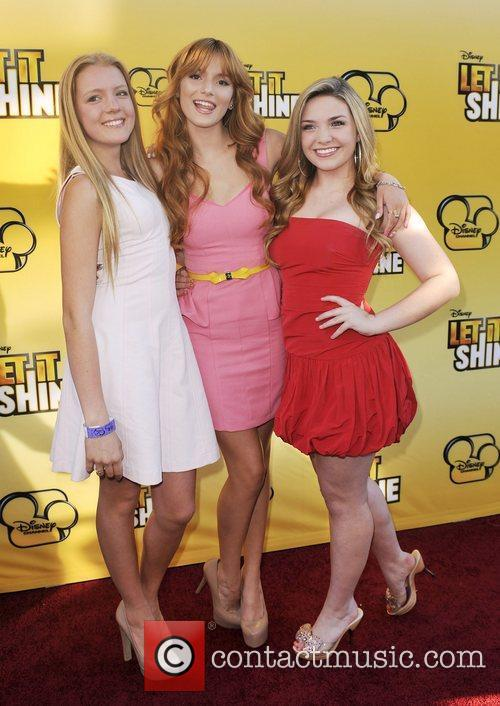 Bella Thorne and Guests Disney's 'Let It Shine'...