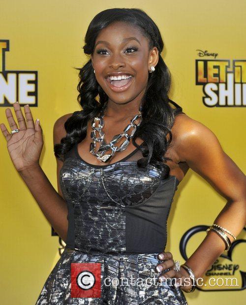 Coco Jones Disney's 'Let It Shine' premiere held...