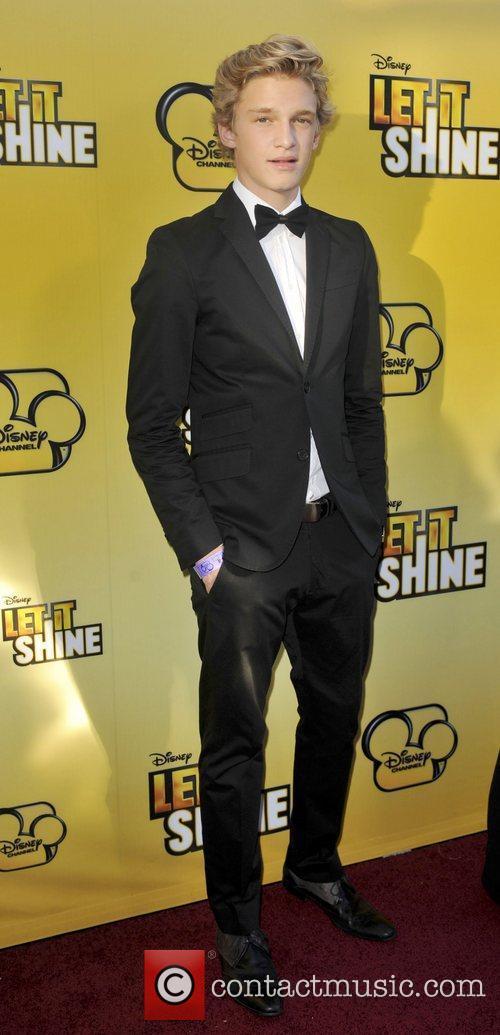Cody Simpson Disney's 'Let It Shine' premiere held...