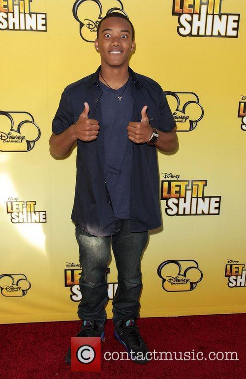 Algee Smith Disney's 'Let It Shine' Premiere held...