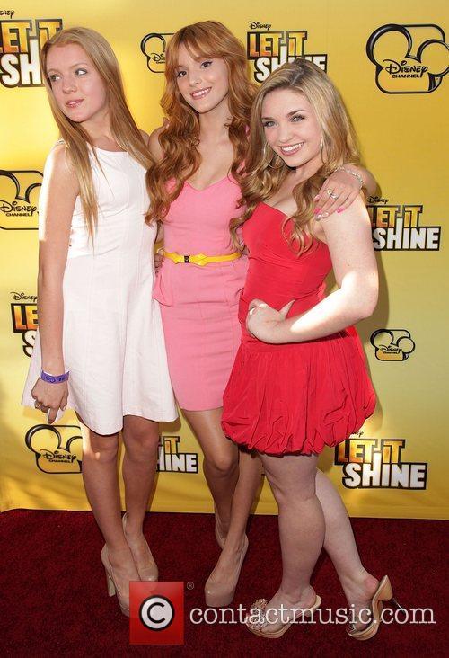 Caroline Sunshine, Bella Thorne, and guest Disney's 'Let...