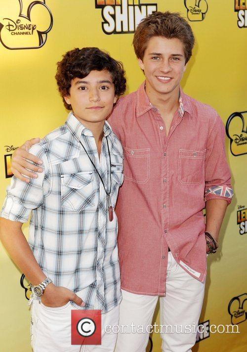 Eric Unger and Billy Unger Disney's 'Let It...