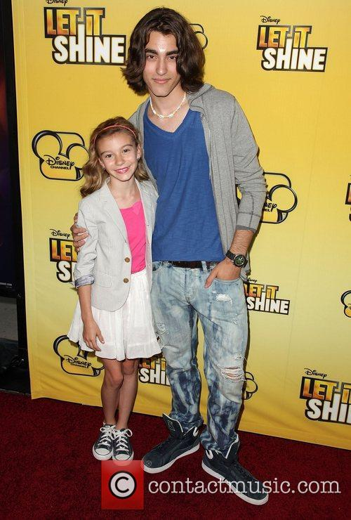 Picture - G  Hannelius and Blake Michael   Tuesday 5th June 2012G Hannelius And Blake Michael