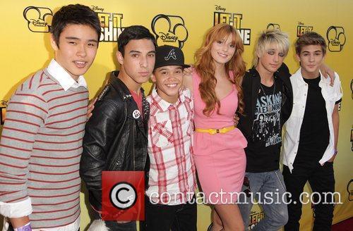 IM5 boy band and Bella Thorne Disney's 'Let...