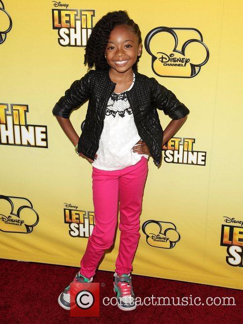 Skai Jackson  Disney's 'Let It Shine' Premiere...
