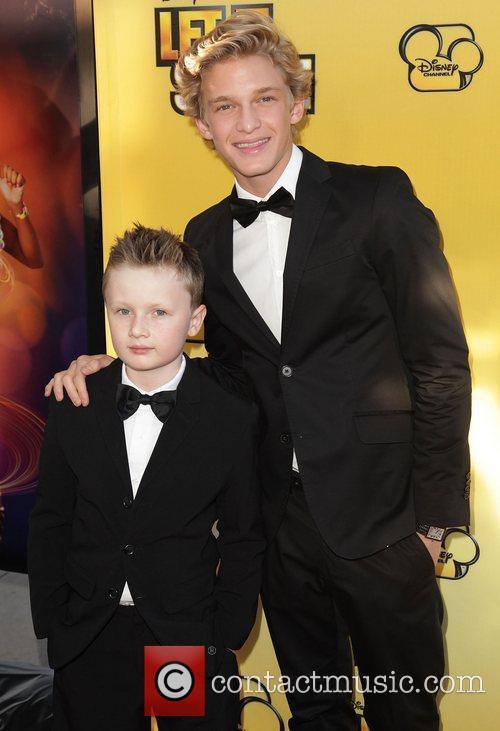 Tom Simpson and Cody Simpson Disney's 'Let It...