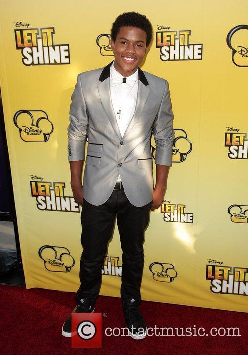 Trevor Jackson Disney's 'Let It Shine' Premiere held...