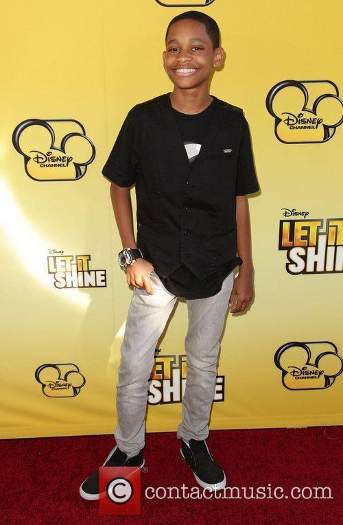 Tyrel Jackson Williams Disney's 'Let It Shine' Premiere...