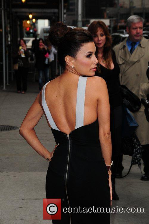 Celebrities arrive at The Ed Sullivan Theater for...