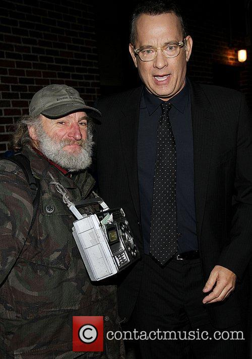 Radio man with Tom Hanks,  at 'The...