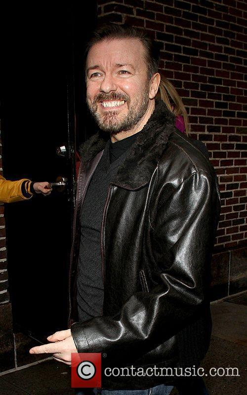 ricky gervais at the ed sullivan theater 3689378