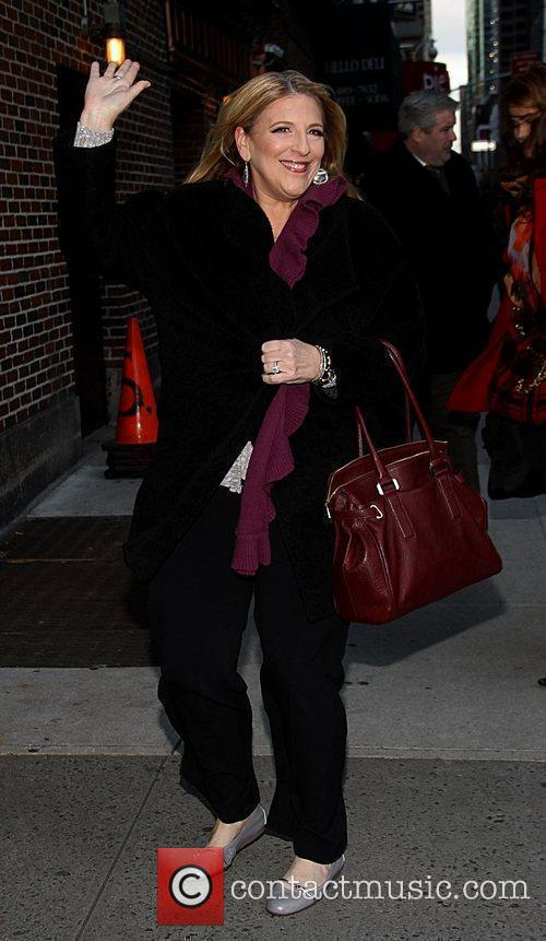 Lisa Lampanelli 'The Late Show with David Letterman'...