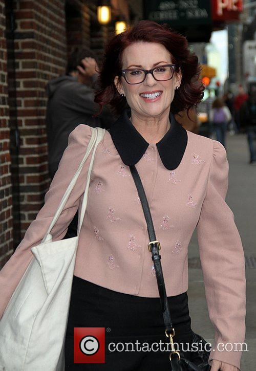 Megan Mulally Celebrities arrive at the Ed Sullivan...