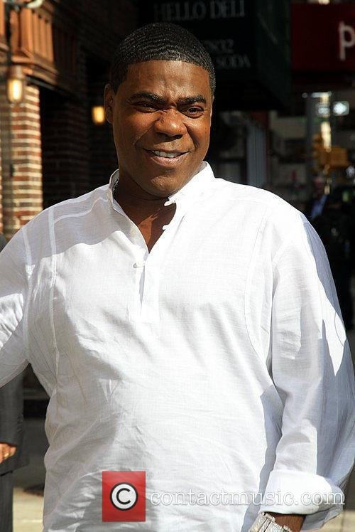 Tracy Morgan Celebrities arrive at the Ed Sullivan...