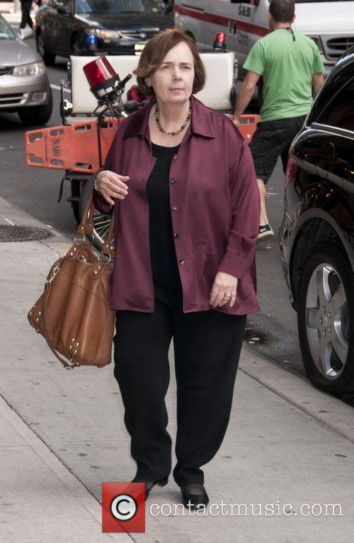 Gail Collins Celebrities arrive at The Ed Sullivan...
