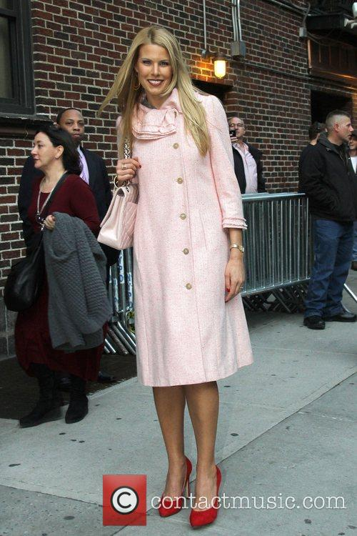 Beth Ostrosky Celebrities at The Ed Sullivan Theater...