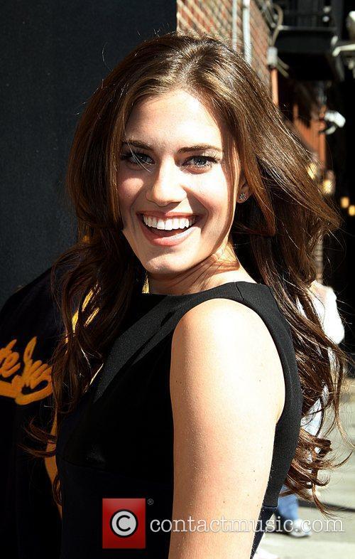 Allison Williams Celebrities arrive at The Ed Sullivan...