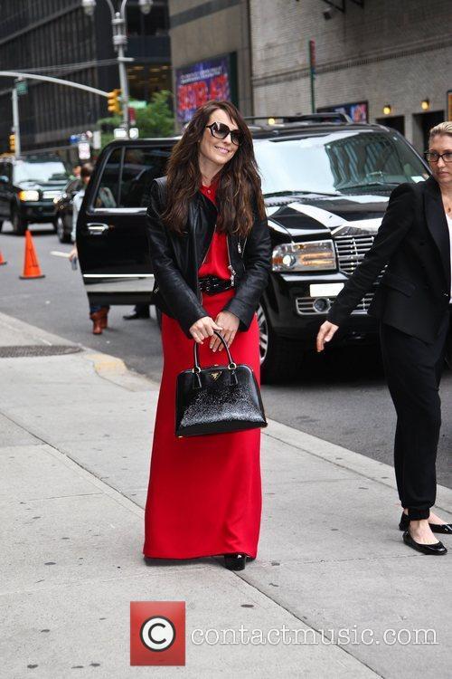 Naomi Rapace Celebrities arriving at The Ed Sullivan...