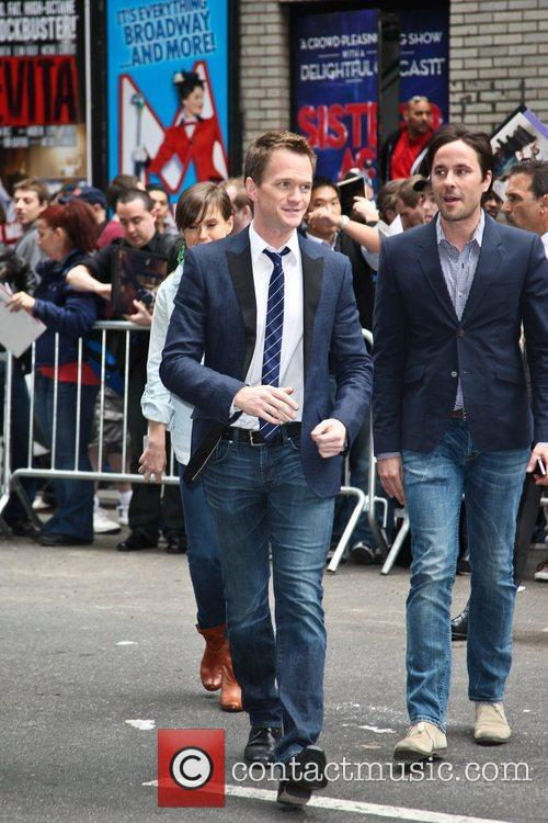 neil patrick harris celebrities arriving at the 5859319