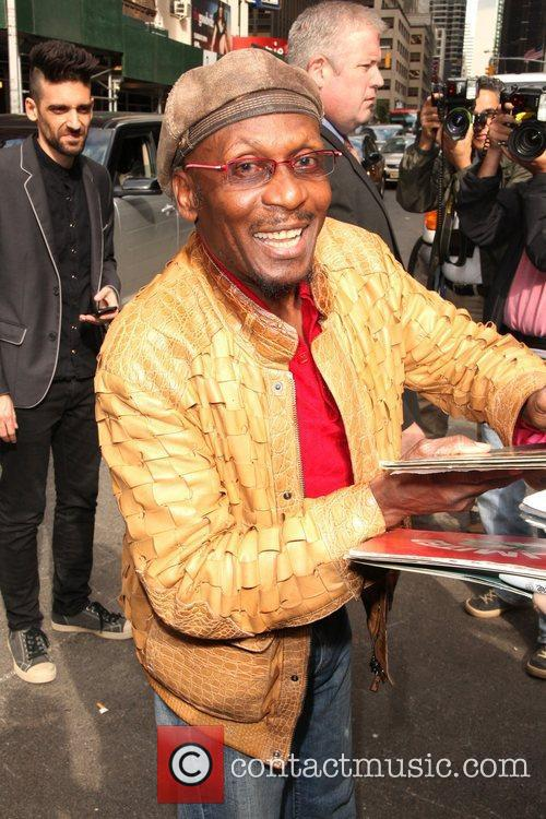 Jimmy Cliff  'The Late Show with David...