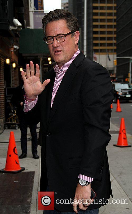 joe scarborough celebrities arrive at the ed 5838252