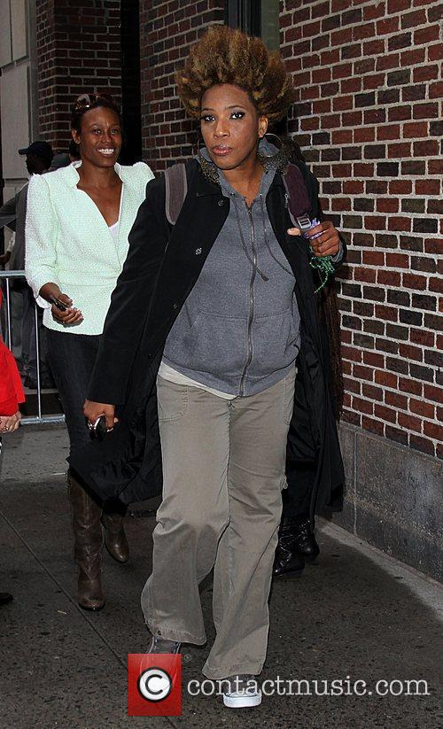 Macy Gray  Celebrities arrive at The Ed...