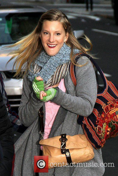 Heather Morris and Ed Sullivan Theatre 8