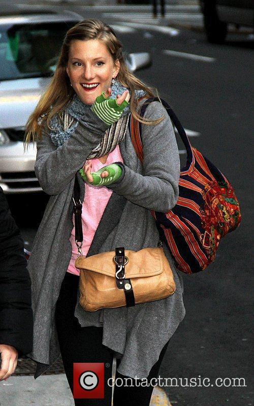 Heather Morris and Ed Sullivan Theatre 9