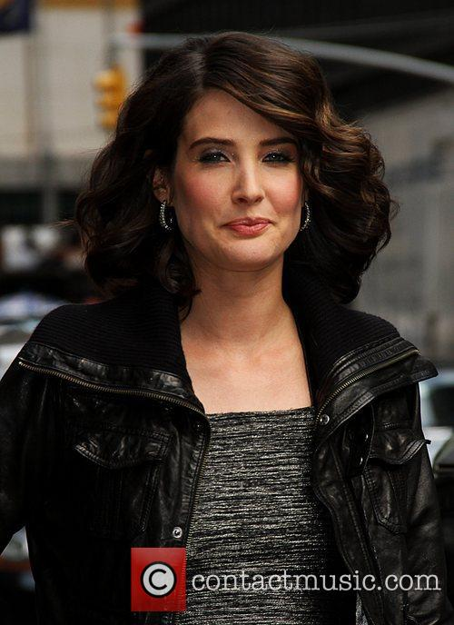 Cobie Smulders Celebrities arrive at The Ed Sullivan...
