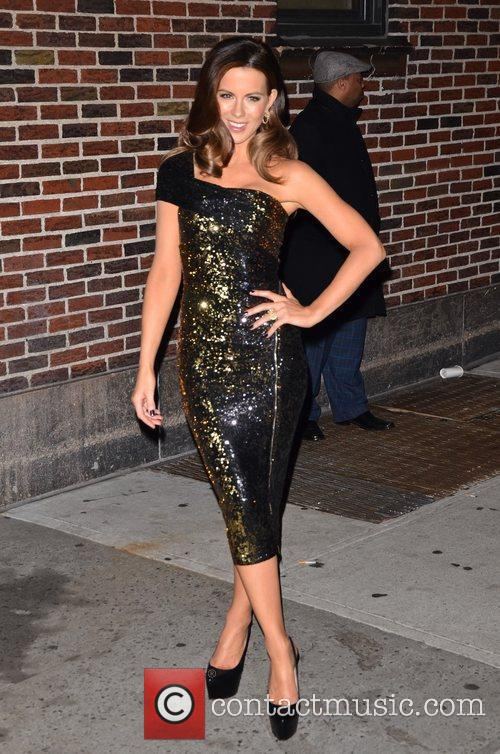 Kate Beckinsale  'The Late Show with David...