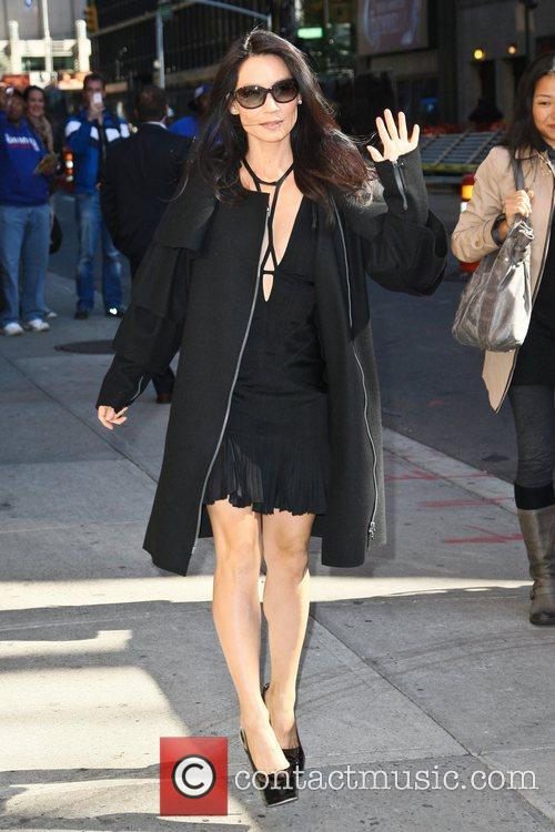 Lucy Liu and Ed Sullivan Theatre 10
