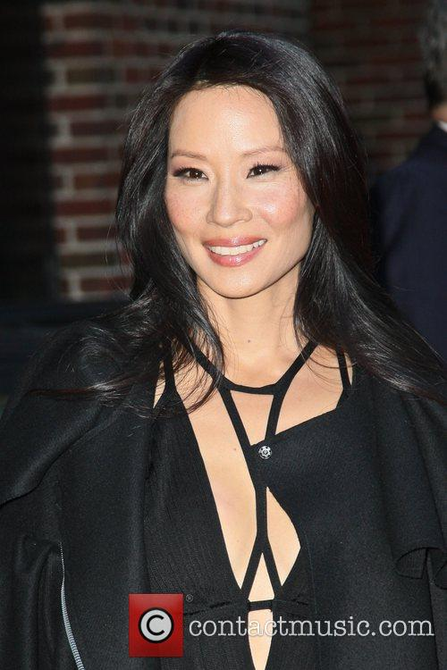 Lucy Liu and Ed Sullivan Theatre 7