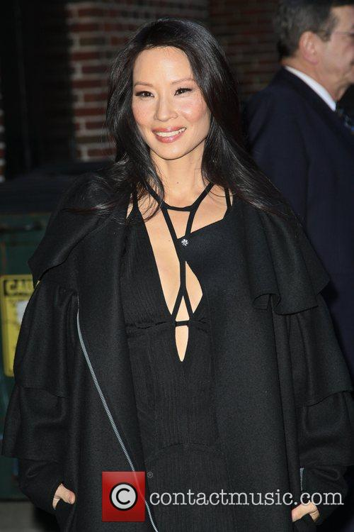 Lucy Liu and Ed Sullivan Theatre 5